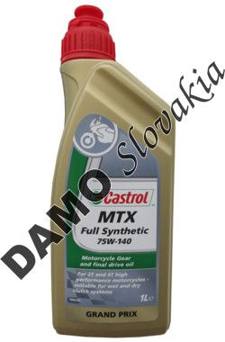 CASTROL MTX FULL SYNTHETIC 75W-140