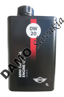 MINI ORIGINAL ENGINE OIL 0W-20