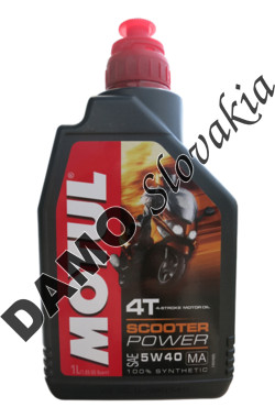 MOTUL 4T SCOOTER POWER 5W-40