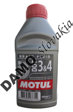 MOTUL BRAKE FLUID DOT 3&4